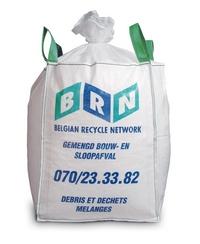afval op de werf ? BRN  bouw afval zak