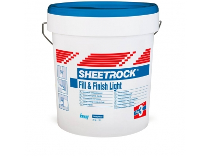 sheetrock<br/> fill&finish light