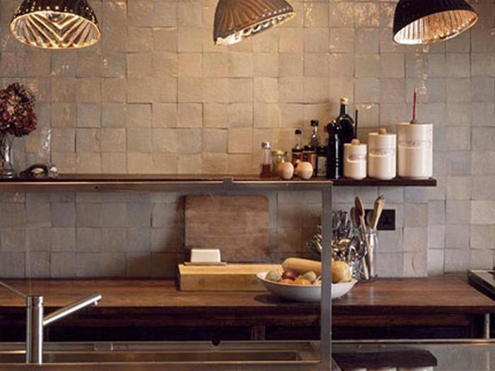 Keuken    Wandtegels Keuken Landelijke Stijl   Inspirerende foto u0026#39;s en idee u00ebn van het interieur en
