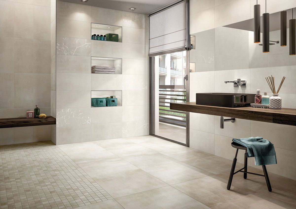 Back Home natural white 45x45  - VILLEROY & BOCH