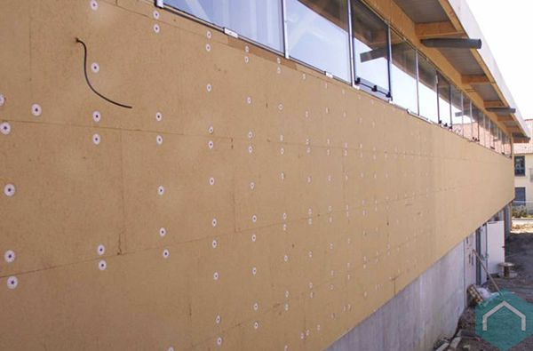 onderdak plaat pavatex | sous-toiture