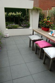 White horse Patio Taupe 40x40