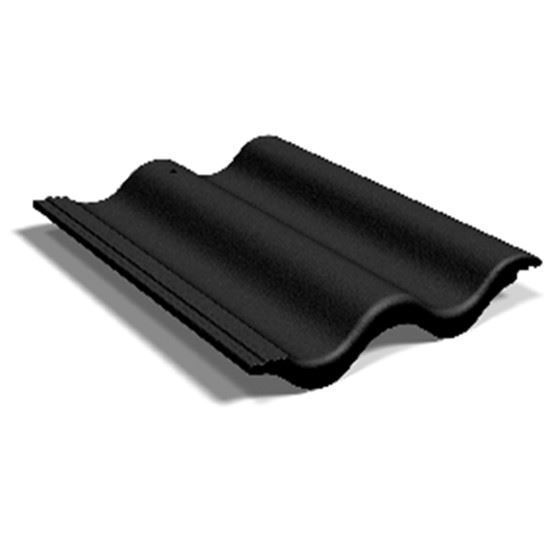 beton pan zwart