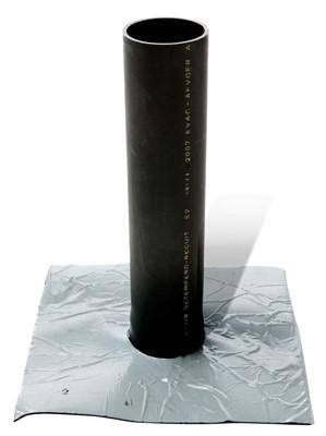 epdm tapbuis met zelfklevende flap 160 mm