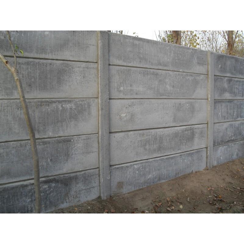BETONPLAAT -  voor afsluiting - cloture jardin beton